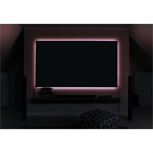 View a larger image of the Elite Screens Aeon 16 Color LED Backlight Kit ZLED100H-103C1 here.