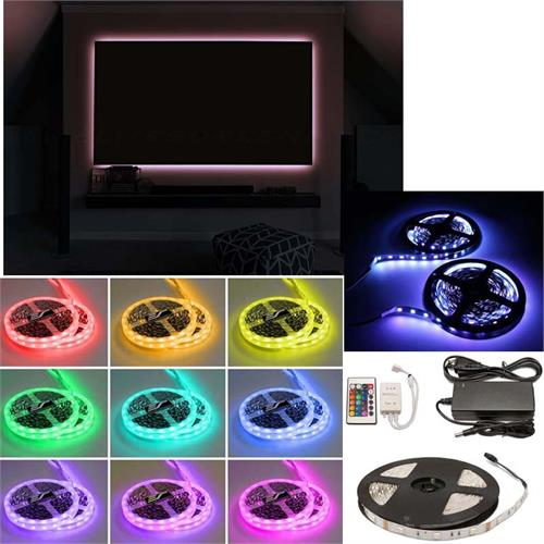 View a large image of the Elite Screens Aeon 16 Color LED Backlight Kit ZLED135H-125C138C1 here.