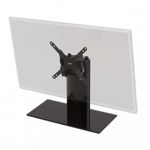 View a large image of the AVF Universal Tilting Table Top TV Mount and Base Black B201BB-A here.