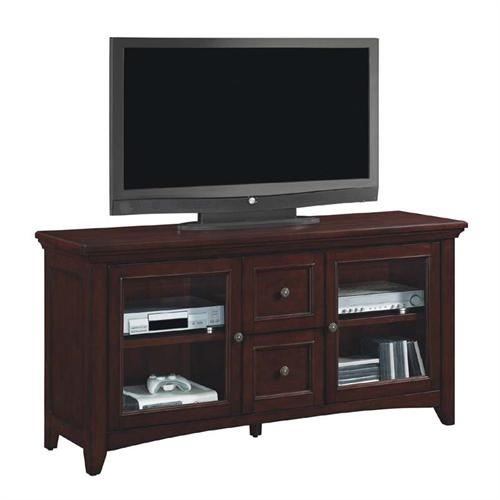 View a large image of the Tresanti Beaumont Collection 60 inch TV Stand Empire Cherry TC60-1012-C244 here.