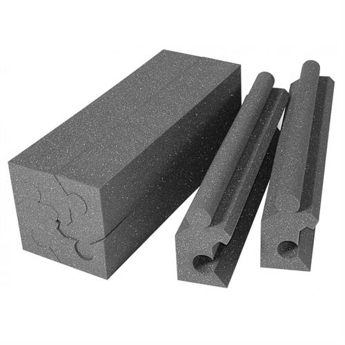 View a large image of the Auralex Acoustics MAX-Wall 90 Degree Corner Couplers Charcoal pack of 12 MAXCOUPLERCHA here.
