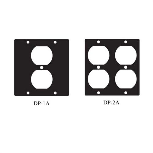 View a large image of the Chief Raxxess Modular Panels for Low Voltage Duplex Devices DP here.