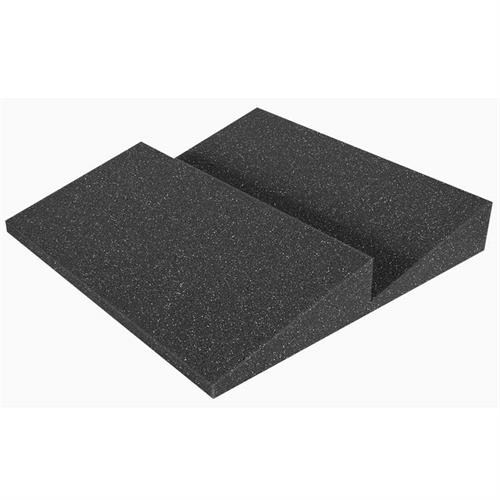 View a large image of the Auralex Acoustics Designer Series 2 Ridge Square Foot StudioFoam Charcoal Pack of 96 DST112CHA_MSTR here.