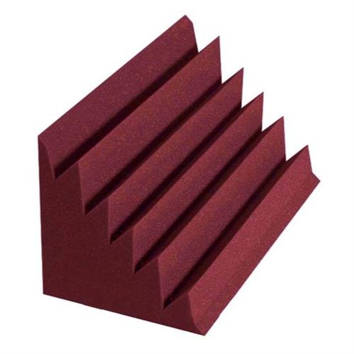 View a large image of the Auralex Acoustics Designer Series Triangular LENRD Bass Traps Burgundy pack of 8 DSTLENBUR here.