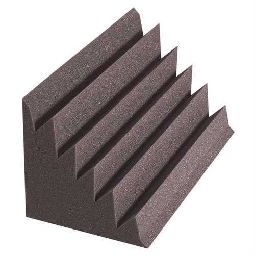 View a large image of the Auralex Acoustics Designer Series Triangular LENRD Bass Traps Charcoal pack of 8 DSTLENCHA here.