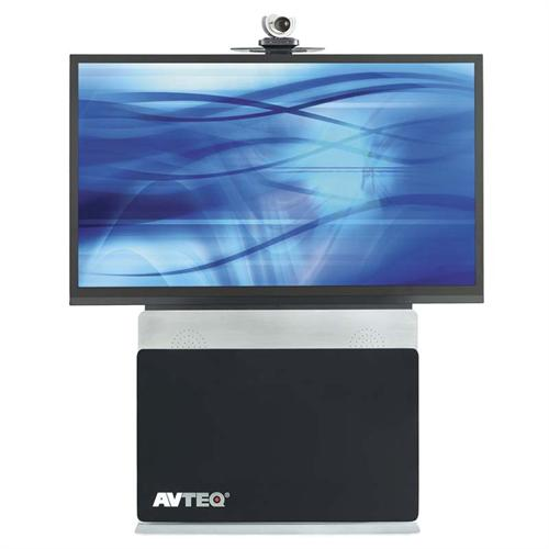 View a large image of the AVTEQ Elite Technology Conference Series Videoconferencing Stand for 70 inch Displays ELT-2000S here.