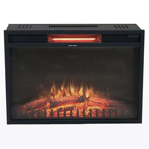 View a large image of the Living Essentials Moscow Electric Fireplace Insert for TV Consoles FPMBK0101 here.