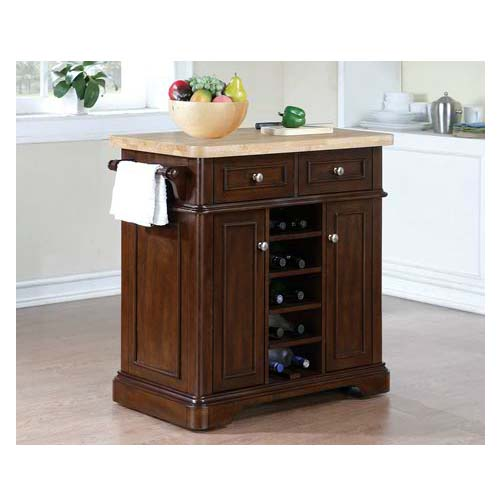 View a large image of the Tresanti Fontaine Kitchen Island Roasted Cherry KC2578-C270-36 here.
