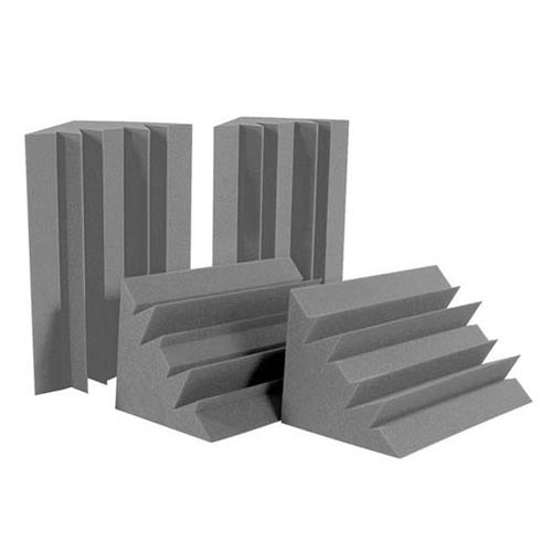 View a large image of the Auralex Acoustics Standard LENRD Bass Traps HALF PACK Charcoal Pack of 4 LENCHA_HP here.