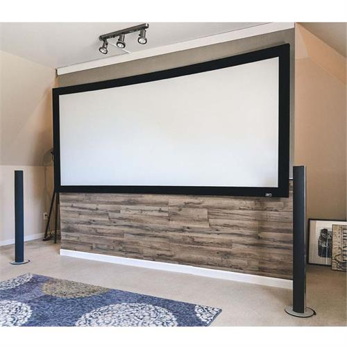 View a large image of the Elite Screens 92 inch Lunette 2 Curved Projection Screen CURVE92WH2 here.