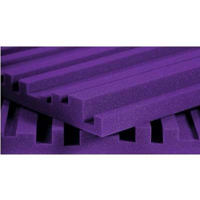 View a large image of the Auralex Acoustics 2 inch Metro StudioFoam Sound Absorption Panels Purple 2METROPUR here.