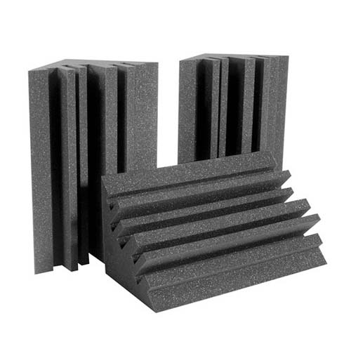 View a large image of the Auralex Acoustics Metro LENRD Bass Traps Charcoal METROLENCHA here.