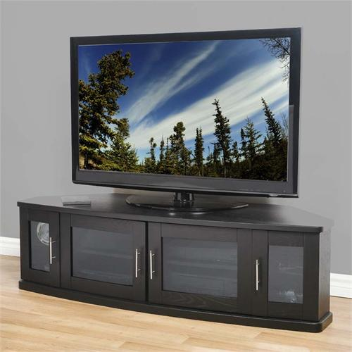 View a large image of the Plateau Corner TV Cabinet for 42-62 in. TVs Black NEWPORT 62 B here.