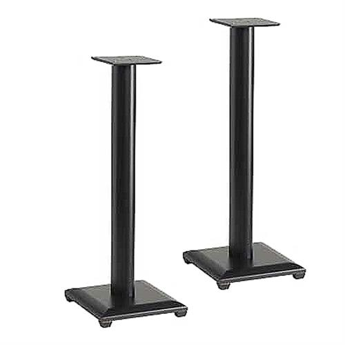 View a large image of the Sanus Natural Foundations 36 inch Speaker Stands Black NF36B here.
