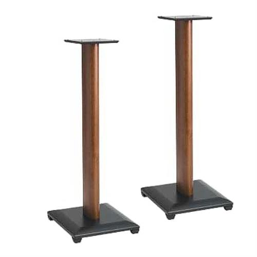 View a large image of the Sanus Natural Foundations 36 inch Speaker Stands Cherry NF36C here.