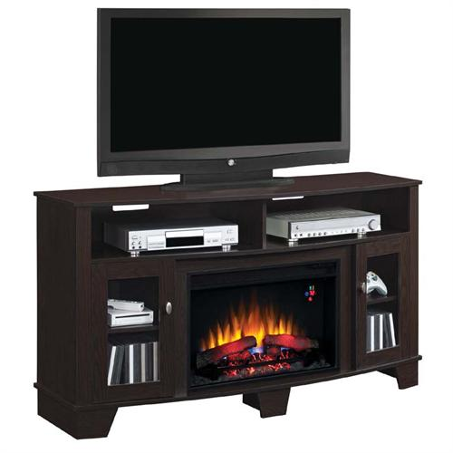 View a large image of the Classic Flame La Salle 62 inch TV Stand with Electric Fireplace Insert Espresso 26MM4995-PE91 here.
