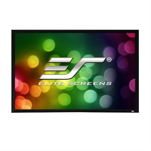 View a large image of the Elite Screens 100 inch Sable Frame 2 Projection Screen ER100WH2 here.