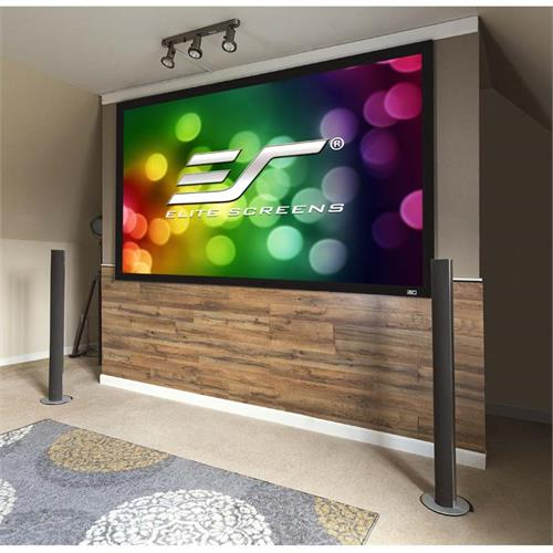 View a large image of the Elite Screens 120 inch Sable Frame 2 Projection Screen (CineWhite) ER120WH2 here.