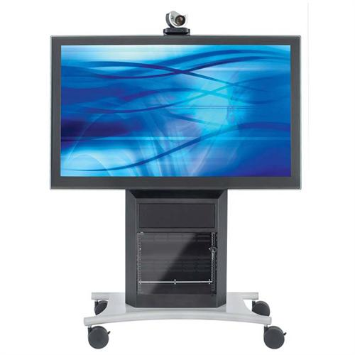 View a large image of the AVTEQ Executive Series Extended Back Media Cart for One 70 inch Screen RPS-1000S-E here.