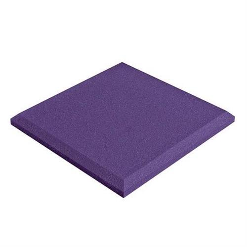 View a large image of the Auralex Acoustics SonoFlat StudioFoam 1 x 1 ft. Sound Absorption Panels Purple pack of 14 SFLAT1114PUR here.