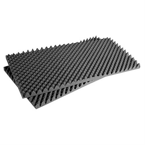 View a large image of the Auralex Acoustics Sonomatt StudioFoam Sound Absorption Panels Charcoal set of 2 2SONO48CHA here.