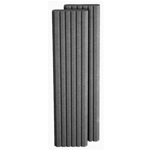 View a large image of the Auralex Acoustics 8-Foot SonoColumn Sound Absorption Column Charcoal Gray SCLMCHA here.