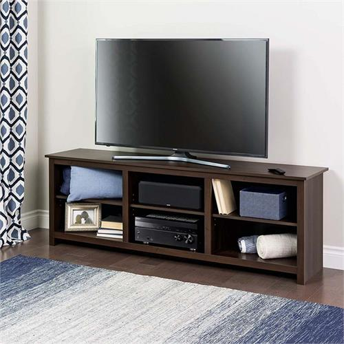 View a large image of the Prepac Sonoma Collection 72 inch TV Stand Espresso ECTG-0001-1 here.