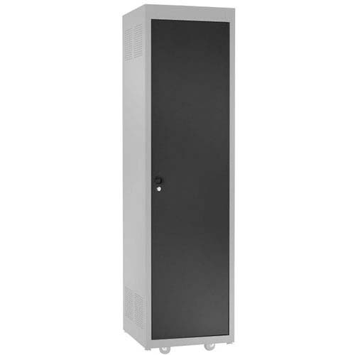 View a large image of the Chief Raxxess Solid Steel Door for E1 Series Racks Black NE1D here.
