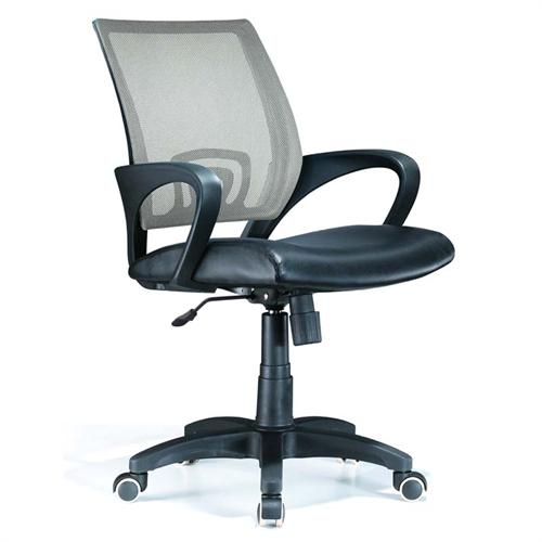 View a large image of the LumiSource Officer Series Office Chair Silver OFC-OFFCR SV here.