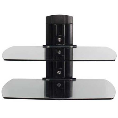 View a large image of the Sanus Audio Video Component Wall Shelf System (Black Glass) VF3012B1 here.