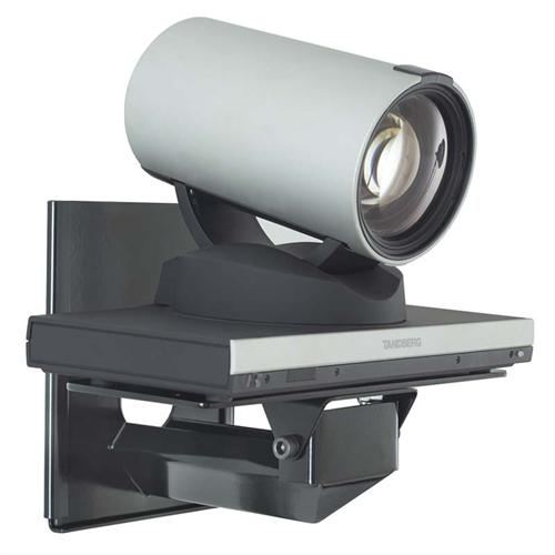 View a large image of the AVTEQ Custom Camera Wall Shelf for Polycom Tandberg or LifeSize Cameras Black CS- here.