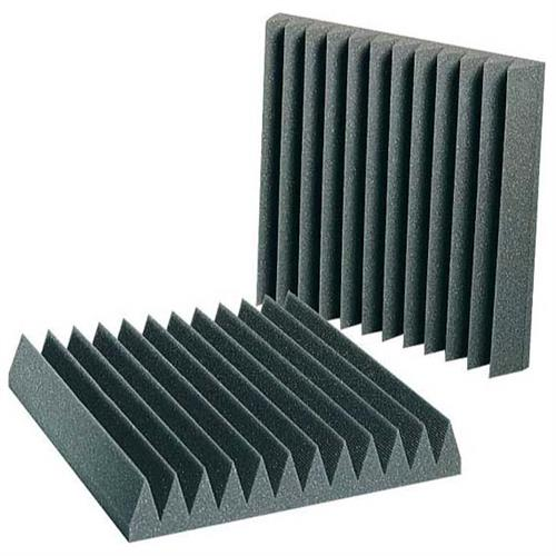 View a large image of the Auralex Acoustics 1 ft. Square StudioFoam Sound Absorption Wedgies Charcoal pack of 96 WEDGIE_424 here.
