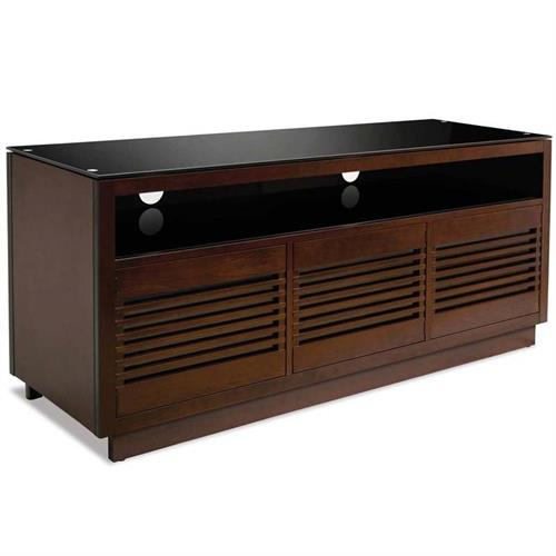 View a large image of the Bello No Tools Assembly 70 in. Audio Video Cabinet Chocolate WMFC602 here.