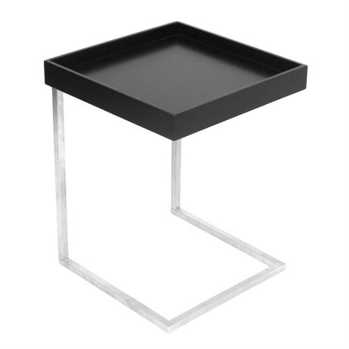 View a large image of the LumiSource Zenn Tray End Table Black TB-ZENNKD TR BK here.