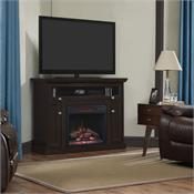 View a larger image of the Classic Flame Windsor Corner Electric Fireplace and TV Stand (Espresso) 23DE9047-PE91 here.
