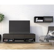 View a larger image of Nexera Stereo Series Entertainment Set (2 Piece, Black) 400927 here.