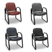 View a larger image of the OFM Vinyl Reception Room Arm Chair (Various Colors) 403-VAM here.