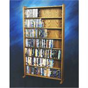 View a larger image of the Wood Shed DVD and VHS Storage Rack (Various Finishes) 707-3 here.
