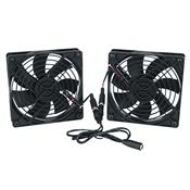 View a larger image of the Middle Atlantic DC Fan Kit (138 CFM) FAN2-DC.