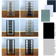 View a larger image of the VTI 6 Shelf Glass Audio Rack (Various Finishes) RGR406 here.