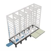 View a larger image of the Middle Atlantic Riser Base (BGR Racks, 1 Bay, 38 D) RIB-1-BGR-38.