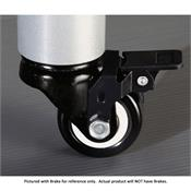 View a large image of the VTI Professional Series Caster Without Brake PRO-CASTERN here.
