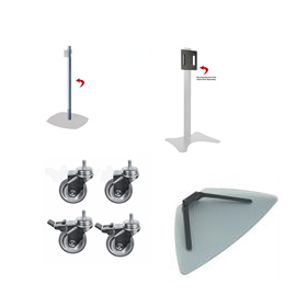 Pedestal and Monitor Stand Accessories