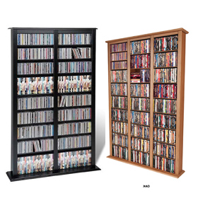 CD DVD Media From Floor Wall Racks